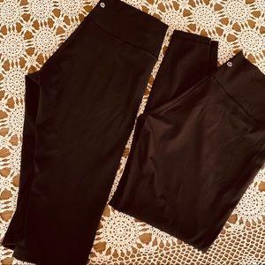 Lululemon Wunderunder leggings black 12 like new